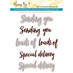 Honey Bee Stamps - Honey Cuts - Steel Craft Dies - Sending You Sentiments