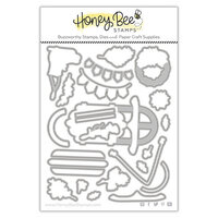 Honey Bee Stamps - Vintage Holiday Collection - Honey Cuts - Steel Craft Dies - Sleigh Bells Ring