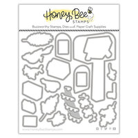 Honey Bee Stamps - Vintage Holiday Collection - Honey Cuts - Steel Craft Dies - Merry Mail