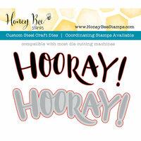 Honey Bee Stamps - Honey Cuts - Steel Craft Dies - Hooray