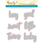 Honey Bee Stamps - Honey Cuts - Steel Craft Dies - Hooray Baby Words