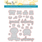 Honey Bee Stamps - Honey Cuts - Steel Craft Dies - Welcome Baby