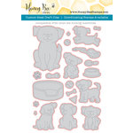 Honey Bee Stamps - Honey Cuts - Steel Craft Dies - Playful Puppies
