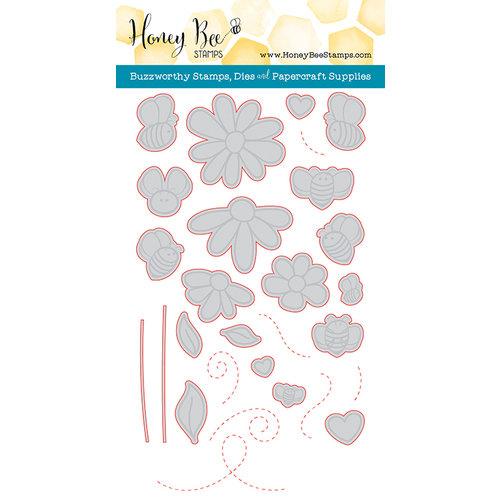 Honey Bee Stamps - Honey Cuts - Steel Craft Dies - Busy Bees