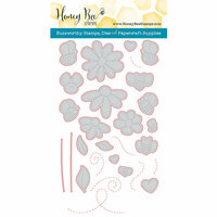 Honey Bee Stamps - Honey Cuts - Steel Craft Dies - Busy Bees