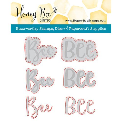 Honey Bee Stamps - Honey Cuts - Steel Craft Dies - Bee-You-Tiful