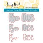 Honey Bee Stamps - Honey Cuts - Steel Craft Dies - Bee-You-Tiful