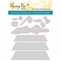 Honey Bee Stamps - Honey Cuts - Steel Craft Dies - Blah Bunny