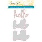 Honey Bee Stamps - Honey Cuts - Steel Craft Dies - Hello