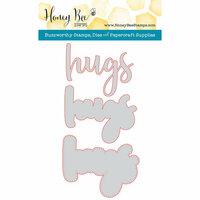 Honey Bee Stamps - Honey Cuts - Steel Craft Dies - Hugs