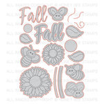 Honey Bee Stamps - Honey Cuts - Steel Craft Dies - Happy Fall Y'all