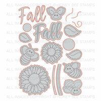Honey Bee Stamps - Honey Cuts - Steel Craft Dies - Happy Fall Y'all