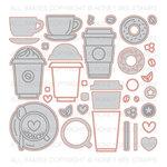 Honey Bee Stamps - Honey Cuts - Steel Craft Dies - Coffee Break