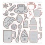 Honey Bee Stamps - Honey Cuts - Steel Craft Dies - Tea Time