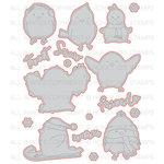 Honey Bee Stamps - Christmas - Honey Cuts - Steel Craft Dies - Snow Birds