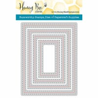 Honey Bee Stamps - Honey Cuts - Steel Craft Dies - A2 Double Stitched Frames