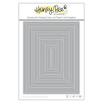 Honey Bee Stamps - Honey Cuts - Steel Craft Dies - A2 Thin Frames