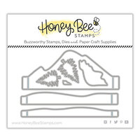 Honey Bee Stamps - Vintage Holiday Collection - Honey Cuts - Steel Craft Dies - A2 Mountain Scene Builder Add On