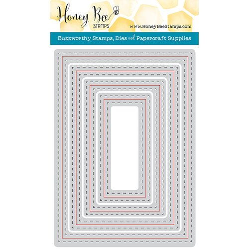 Honey Bee Stamps - Honey Cuts - Steel Craft Dies - A7 Double Stitched Frames