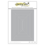 Honey Bee Stamps - Honey Cuts - Steel Craft Dies - A7 Thin Frames