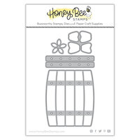 Honey Bee Stamps - Dies - Honey Cuts - Apple Barrel