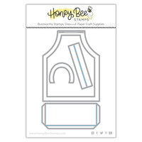 Honey Bee Stamps - Let's Celebrate Collection - Honey Cuts - Steel Craft Dies - A2 Apron