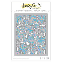 Honey Bee Stamps - Autumn Splendor Collection - Honey Cuts - Steel Craft Dies - Autumn Splendor A2 Cover Plate