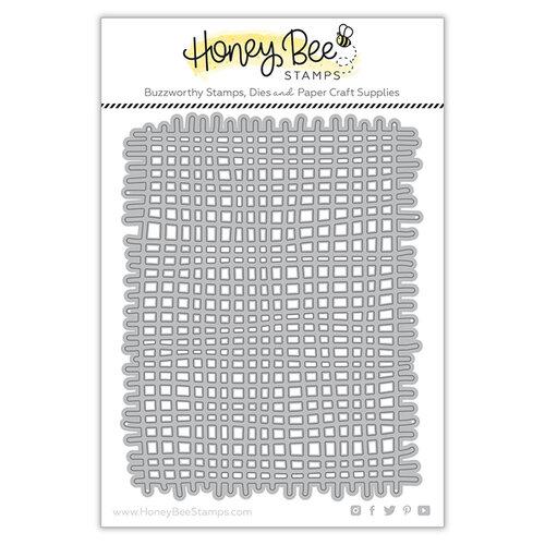 Honey Bee Stamps - Dies - Burlap Background