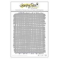 Honey Bee Stamps - Dies - Burlap Background