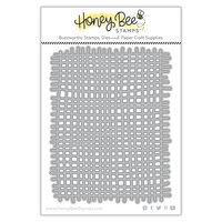 Honey Bee Stamps - Honey Cuts - Steel Craft Dies - Burlap Background
