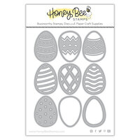 Honey Bee Stamps - Dies - Honey Cuts - Build An Egg
