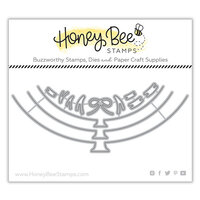 Honey Bee Stamps - Honey Cuts - Steel Craft Dies - Balloon Card Borders