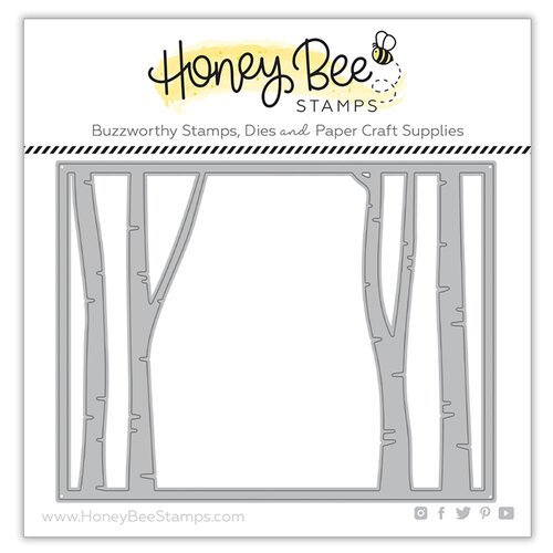 Honey Bee Stamps - Honey Cuts - Steel Craft Dies - Birch Cover Plate - Top