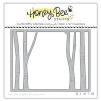 Honey Bee Stamps - Dies - Birch Cover plate - Top