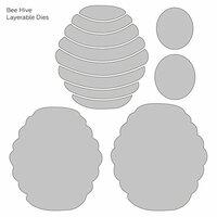 Honey Bee Stamps - Honey Cuts - Steel Craft Dies - Bee Hive