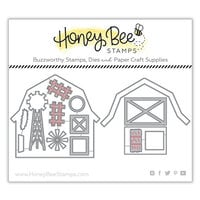 Honey Bee Stamps - Honey Cuts - Steel Craft Dies - Barn Scene Builder