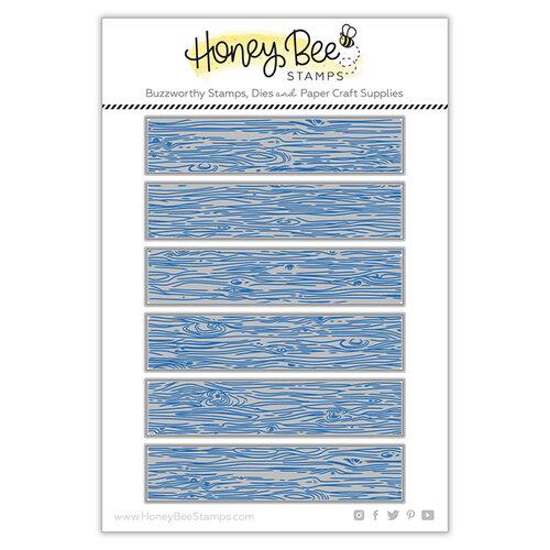 Honey Bee Stamps - Dies - Barn Wood Planks