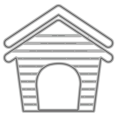 Honey Bee Stamps - Honey Cuts - Steel Craft Dies - Dog House