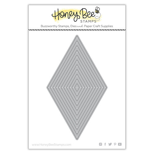 Honey Bee Stamps - Paradise Collection - Dies - Diamond Thin Frames