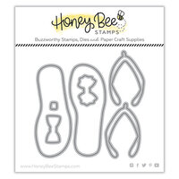 Honey Bee Stamps - Paradise Collection - Dies - Flip Flop Builder