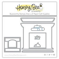 Honey Bee Stamps - Dies - Scene Builder - Fireplace