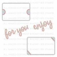 Honey Bee Stamps - Christmas - Honey Cuts - Steel Craft Dies - Gift Card Slots
