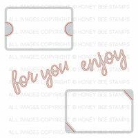 Honey Bee Stamps - Christmas - Honey Cuts - Steel Craft Dies - Gift Card Slots