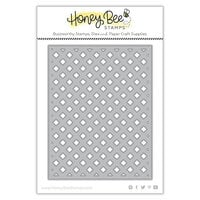 Honey Bee Stamps - Paradise Collection - Dies - Garden Lattice Cover Plate - Base