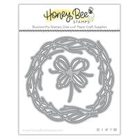 Honey Bee Stamps - Autumn Splendor Collection - Honey Cuts - Steel Craft Dies - Grapevine Wreath