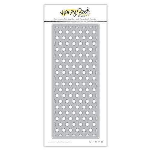 Honey Bee Stamps - Dies - Honey Cuts - Hexi Slimline Coverplate Bottom