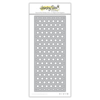 Honey Bee Stamps - Dies - Honey Cuts - Hexi Slimline Coverplate Bottom