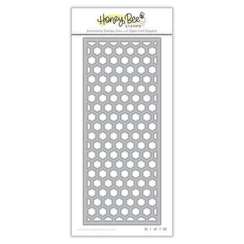 Honey Bee Stamps - Honey Cuts - Steel Craft Dies - Hexi Slimline Cover Plate Top