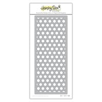 Honey Bee Stamps - Dies - Honey Cuts - Hexi Slimline Coverplate Top