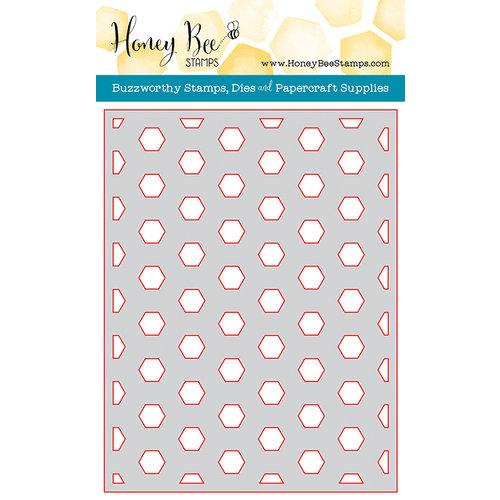 Honey Bee Stamps - Honey Cuts - Steel Craft Dies - Hexagon Cover Plate Base